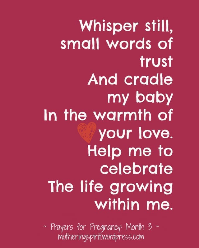 prayers for pregnancy   Mothering Spirit   maternity ebook
