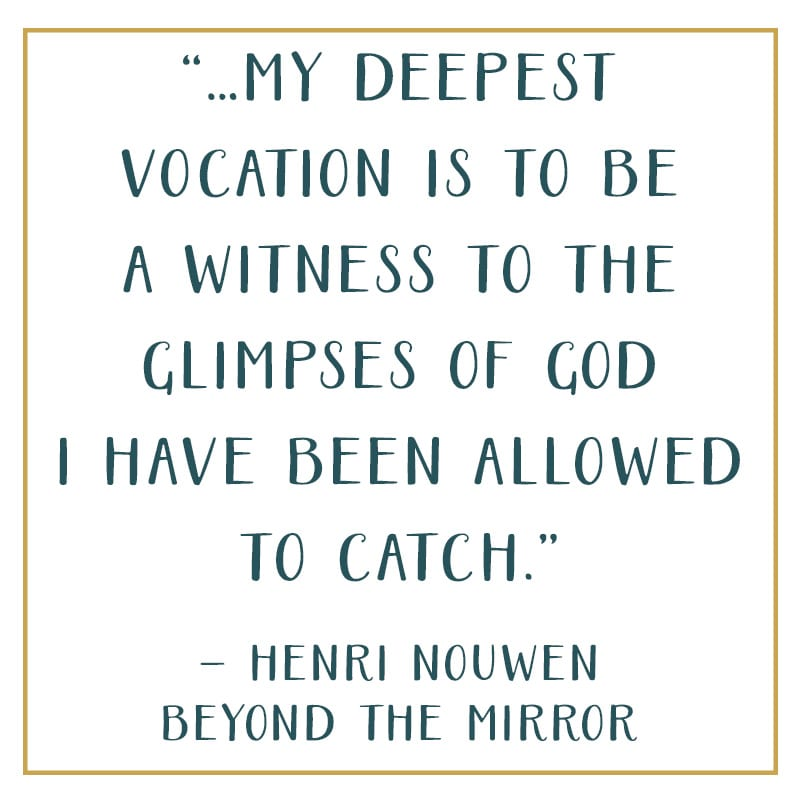 Henri Nouwen quote